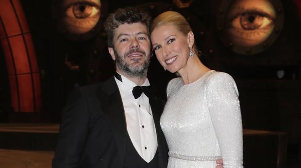 Anne Igartiburu y su marido, Pablo Heras-Casado, el pasado mes de febrero en la gala de los Premios Goya
