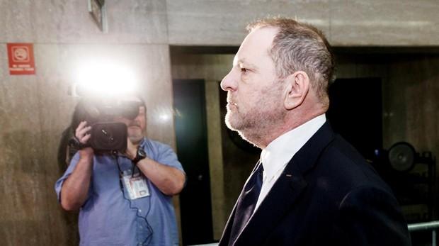 El productor Harvey Weinstein, en el Tribunal Supremo del Estado de Nueva York