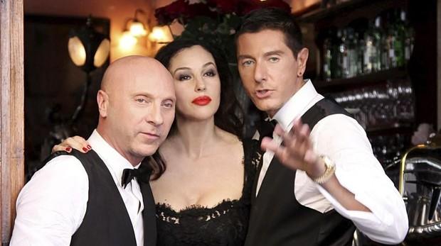Dolce & Gabbana junto a Monica Bellucci