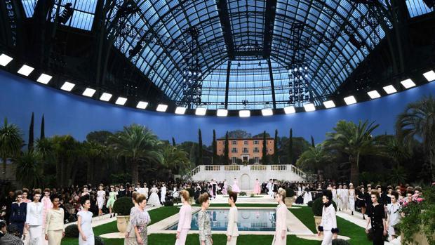 Desfile de la colección de Alta Costura de Chanel para la temporada de primavera y verano 2019