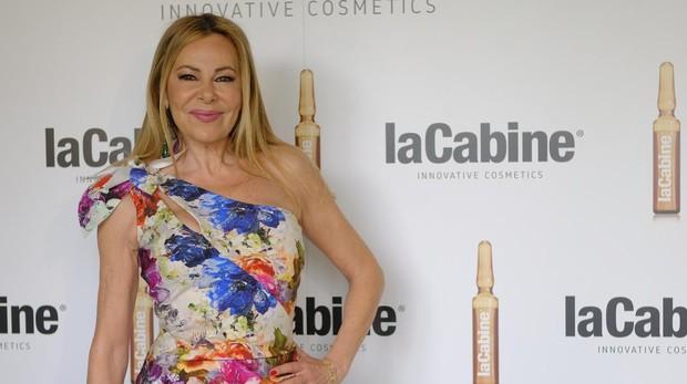 Ana Obregón, ayer, en la presentación de laCabine