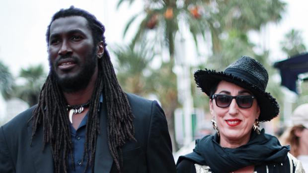 Koffy y Rossy de Palma en Cannes