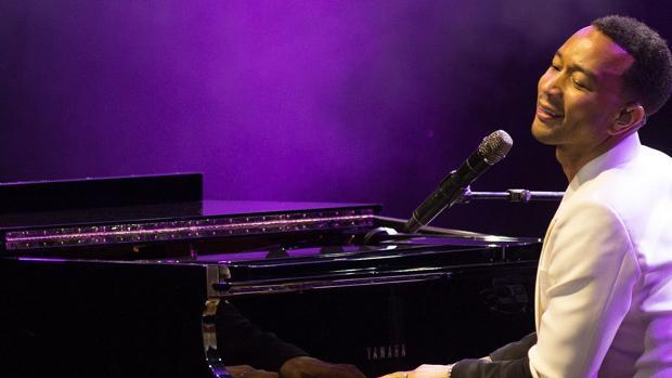 John Legend, durante el concierto ofrecido en Starlite