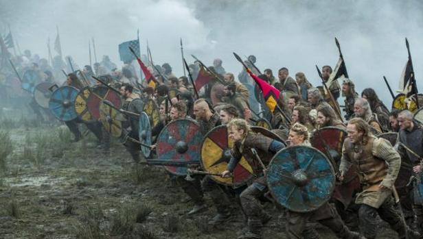 Fotograma de la serie Vikingos