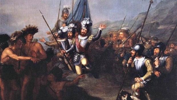 Desembarco de Cortés