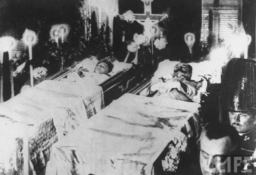 Funeral de los Archiduques.