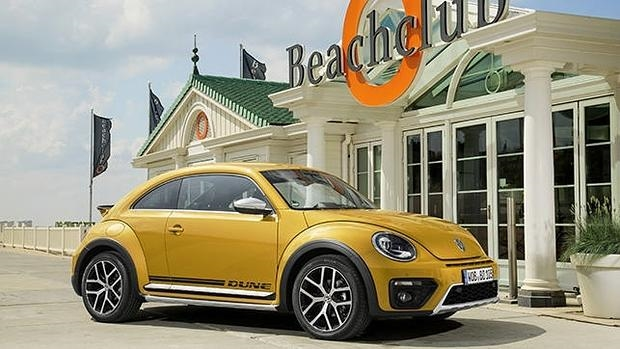 El nuevo Volkswagen Beetle Dune rompe con todo