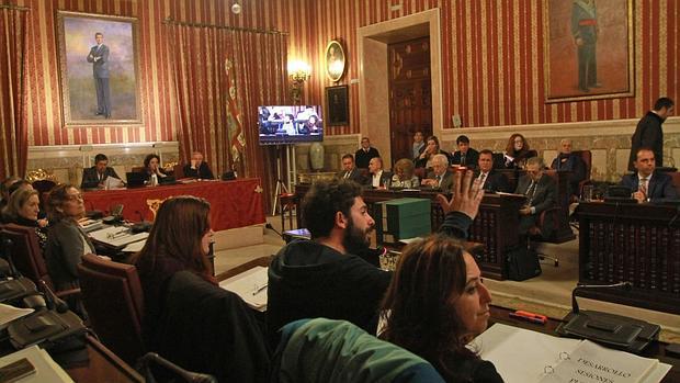 Pleno del Ayuntamiento de Sevilla, este viernes