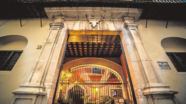 Patio del Palacio de Los Palma