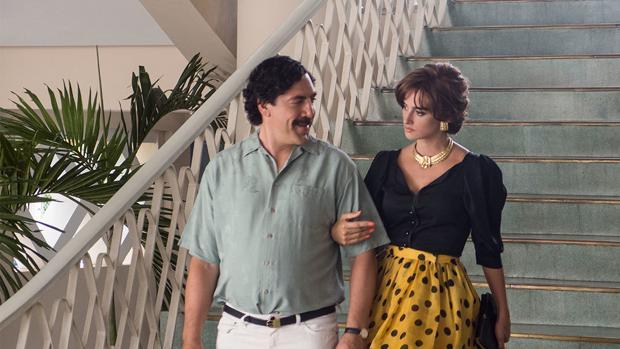 Javier Bardem y Penélope Cruz protagonizan «Loving Pablo», película nominada en los Premios Goya 2018