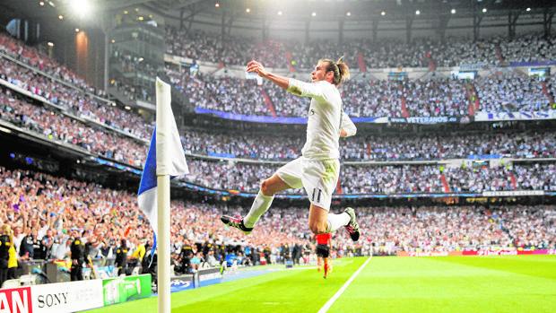 El Real Madrid se convertirá en el primer club del mundo en lanzar un canal con imágenes en 360º y realidad virtual. En la imagen, Gareth Bale celebra un gol