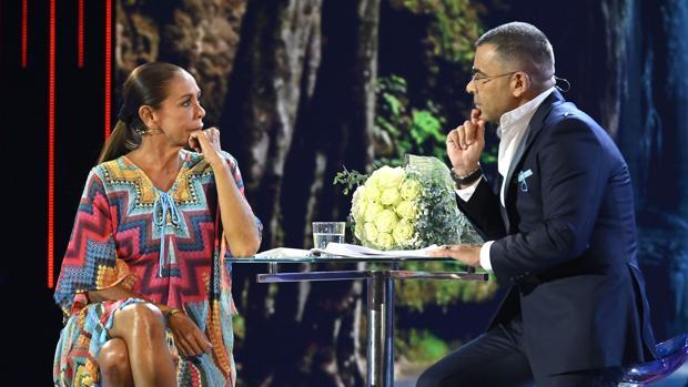 Isabel Pantoja, en su entrevista con Jorge Javier Vázquez