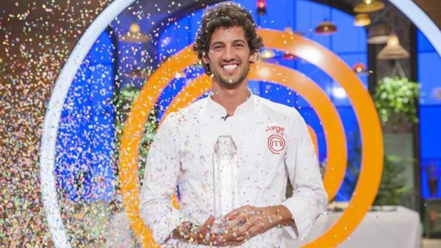 Jorge Brazález, ganador de «MasterChef 5»