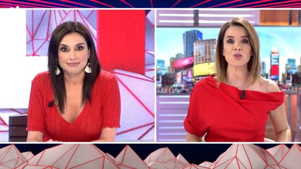 Marta Flich y Carme Chaparro, este miércoles en «Todo es mentira»