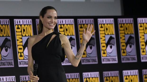 Angelina Jolie, nuevo fichaje de Marvel, en la Comic Con de San Diego