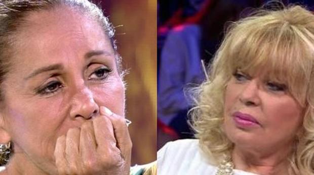 Isabel Pantoja y Bárbara Rey