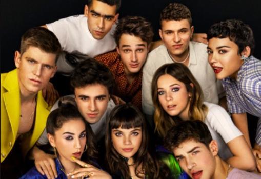 Imagen del elenco de la serie Elite