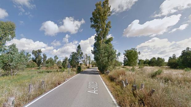 Carretera donde se ha producido el siniestro