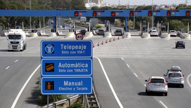 El trayecto Sevilla-Cádiz pasará a costar para los turismos 7,34 euros a partir del 1 de enero