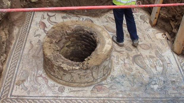 La Junta ha dado luz verde para extraer el mosaico de Cantillana para su mejor conservación