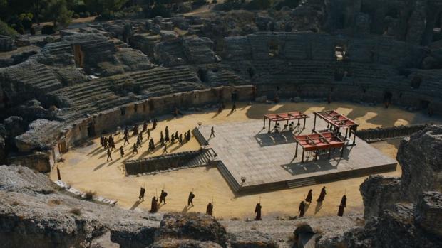 El anfiteatro de Itálica en «Juego de tronos»
