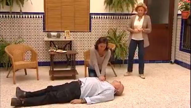 Imagen del vídeo emitido en Écija Comarca TV