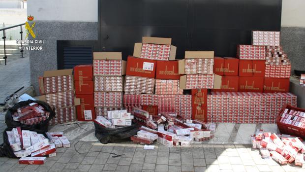 La Guardia Civil ha detenido a 16 personas por contrabando de tabaco en Alcalá de Guadaíra
