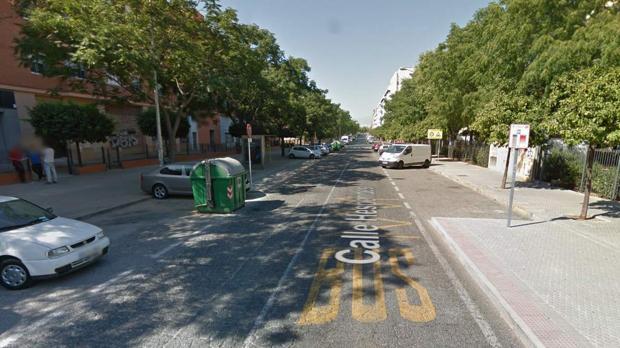 La última violación se produjo en la calle Hespérides de Sevilla en diciembre de 2015