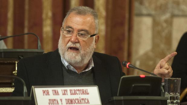 Antonio Rodrigo Torrijos, durante una intervención en el Pleno del Ayuntamiento