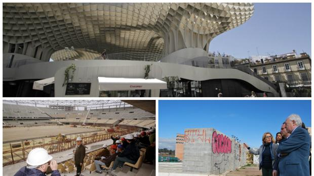 Varios de los proyectos infrautilizados o abandonados