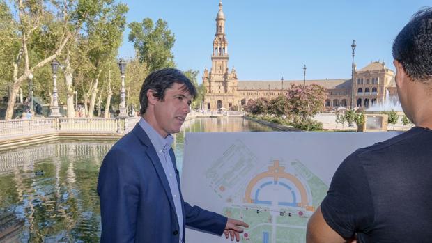 El circuito del Parque de María Luisa es uno de los de referencia para los runners sevillanos