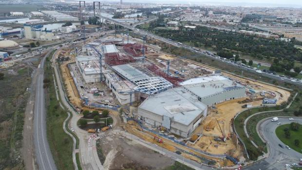 La obra avanza y se prevé que el centro entre en funcionamiento después del próximo verano