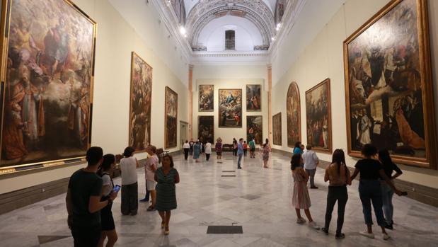 El Museo de Bellas Artes de Sevilla se ubica en la plaza del Museo de Sevilla