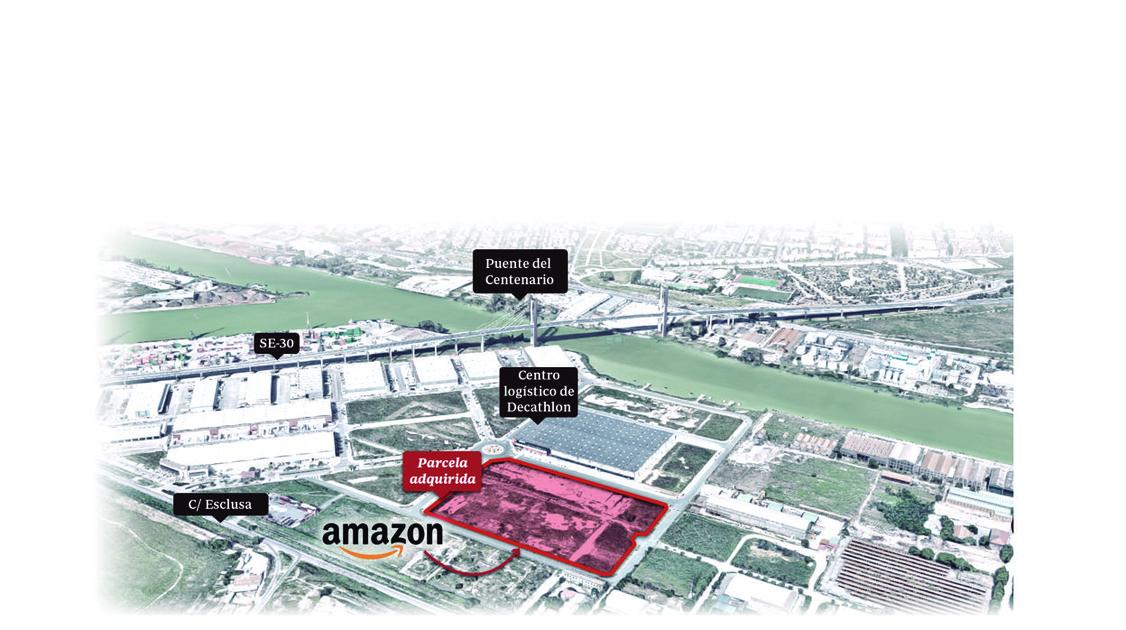 60aeb8888 Amazon abrirá otro centro logístico en el Puerto de Sevilla