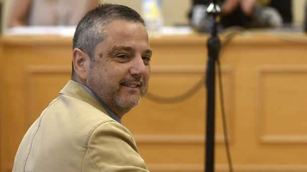 Mellet, en una sesión del juicio