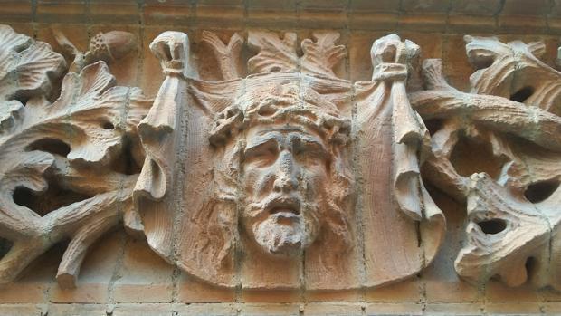 Fachada de la capilla de Los Luises, en la calle Trajano