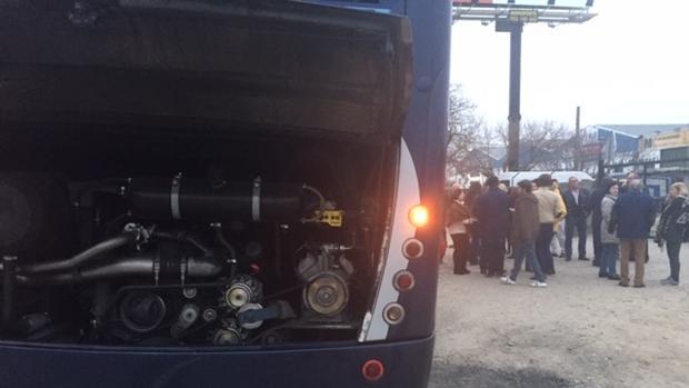 Los pasajeros estuvieron tres horas en Córdoba hasta que se pudo reemplazar el autocar