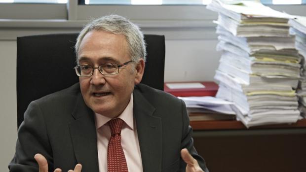 Francisco Guerrero, decano de los jueces de Sevilla