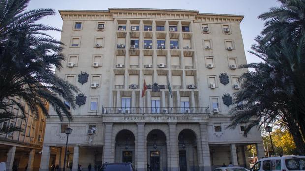 Fachada del Palacio Judicial de la Audiencia de Sevilla