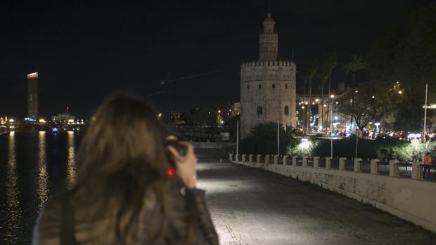 La Torre del Oro, apagada el año pasado