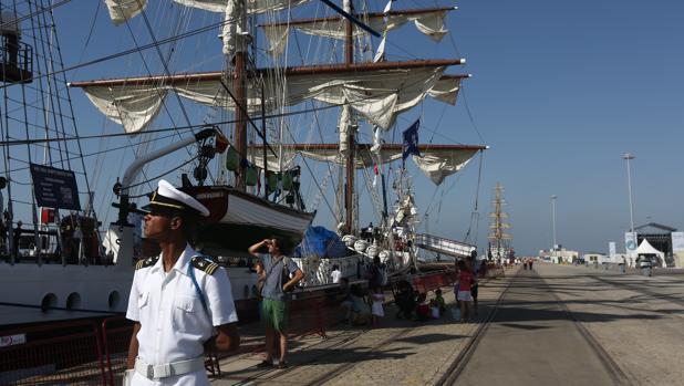 La regata que se celebró en Cádiz en 2016