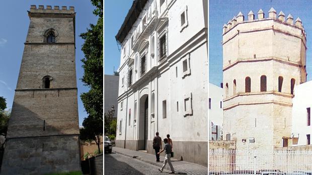 La lista incluye monumentos como la Torre de don Fadrique, San Hermenegildo y la Torre de la Plata
