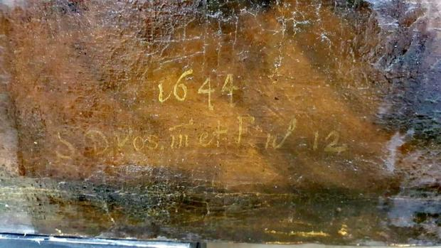 El hallazgo de la data en el cuadro de la Catedral de Sevilla