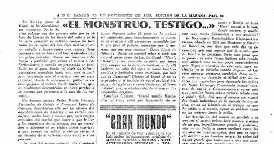 Publicación de ABC del 26 de noviembre de 1955