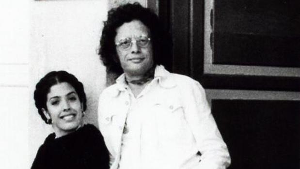 Juan Manuel Flores con Lole