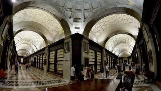 Galerías del Archivo General de Indias de Sevilla
