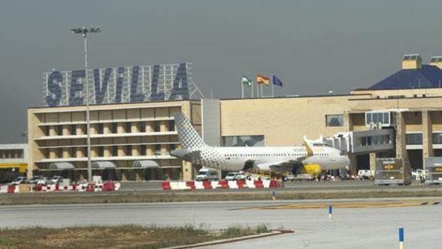 El aeropuerto de Sevilla está de obras para aumentar su capacidad de operaciones