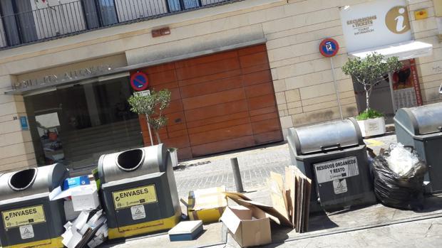 Aspecto de la calle Santa María la Blanca