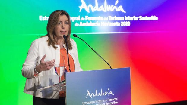 La presidenta del PP andaluz, Susana Díaz