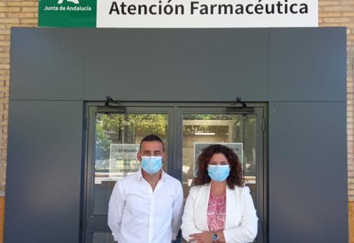 José Ant0nio Marcos y Sandra Flores colaboraron en todo momento y gestionaron la escasez con éxito